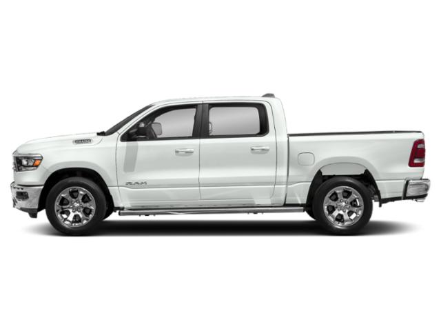 Bright White Clearcoat 2019 Ram Truck 1500 Pictures 1500 Tradesman 4x4 Crew Cab 6'4 Box photos side view