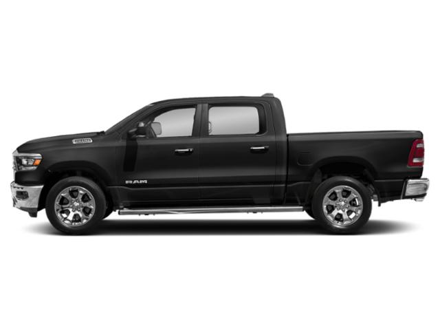 Diamond Black Crystal Pearlcoat 2019 Ram Truck 1500 Pictures 1500 Tradesman 4x4 Crew Cab 6'4 Box photos side view