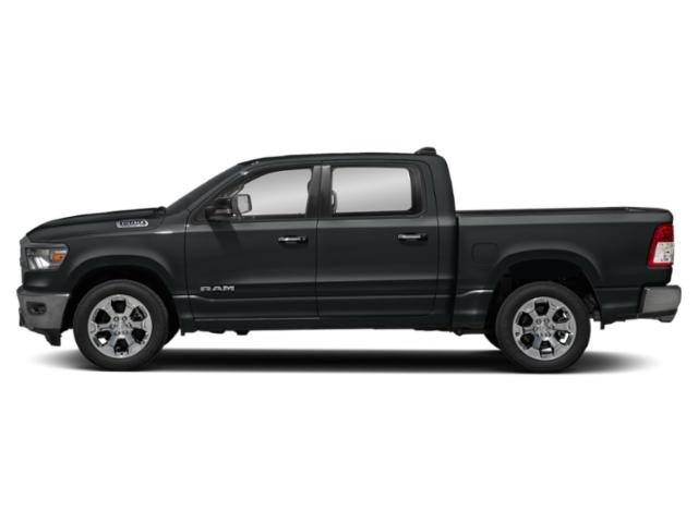 Maximum Steel Metallic Clearcoat 2019 Ram Truck 1500 Pictures 1500 Tradesman 4x2 Crew Cab 5'7 Box photos side view