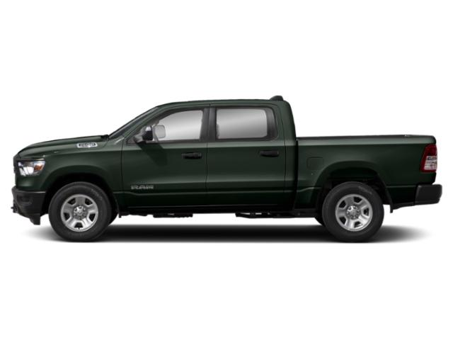 Black Forest Green Pearlcoat 2019 Ram Truck 1500 Pictures 1500 Tradesman 4x4 Crew Cab 5'7 Box photos side view