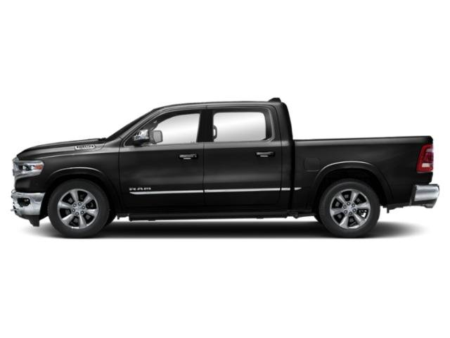 Diamond Black Crystal Pearlcoat 2019 Ram Truck 1500 Pictures 1500 Limited 4x4 Crew Cab 5'7 Box photos side view