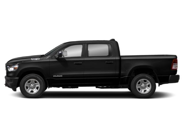 Diamond Black Crystal Pearlcoat 2019 Ram Truck 1500 Pictures 1500 Tradesman 4x2 Crew Cab 5'7 Box photos side view
