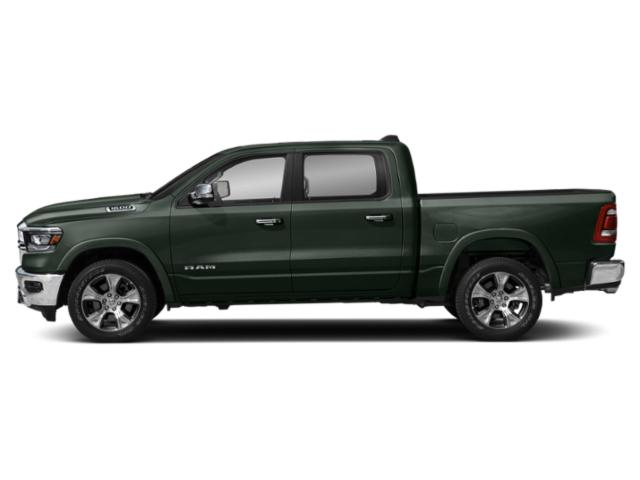 Black Forest Green Pearlcoat 2019 Ram Truck 1500 Pictures 1500 Laramie 4x2 Crew Cab 5'7 Box photos side view