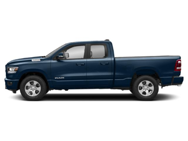 Patriot Blue Pearlcoat 2019 Ram Truck 1500 Pictures 1500 Tradesman 4x4 Quad Cab 6'4 Box photos side view