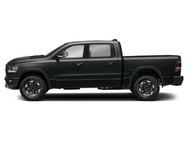 Maximum Steel Metallic Clearcoat 2019 Ram Truck 1500 Pictures 1500 Rebel 4x4 Crew Cab 5'7 Box photos side view