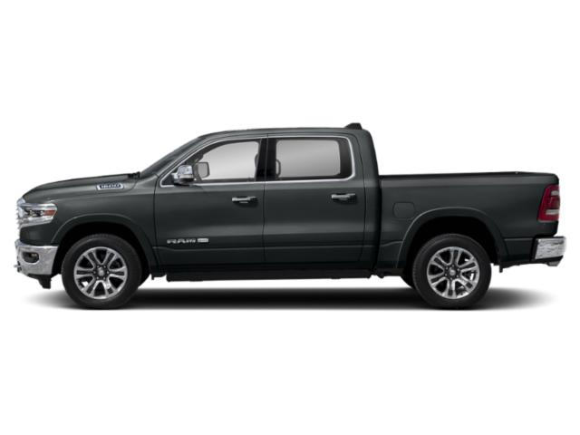 Maximum Steel Metallic Clearcoat 2019 Ram Truck 1500 Pictures 1500 Longhorn 4x2 Crew Cab 6'4 Box photos side view