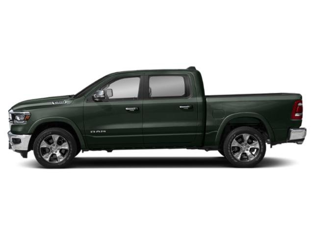 Black Forest Green Pearlcoat 2019 Ram Truck 1500 Pictures 1500 Laramie 4x4 Crew Cab 5'7 Box photos side view