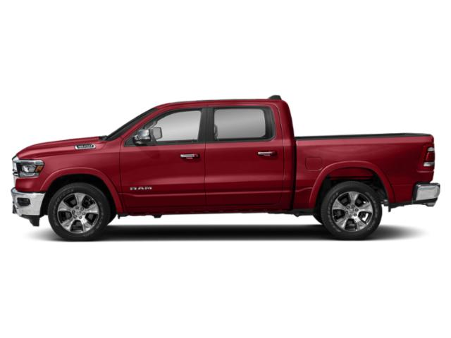 Flame Red Clearcoat 2019 Ram Truck 1500 Pictures 1500 Laramie 4x4 Crew Cab 5'7 Box photos side view