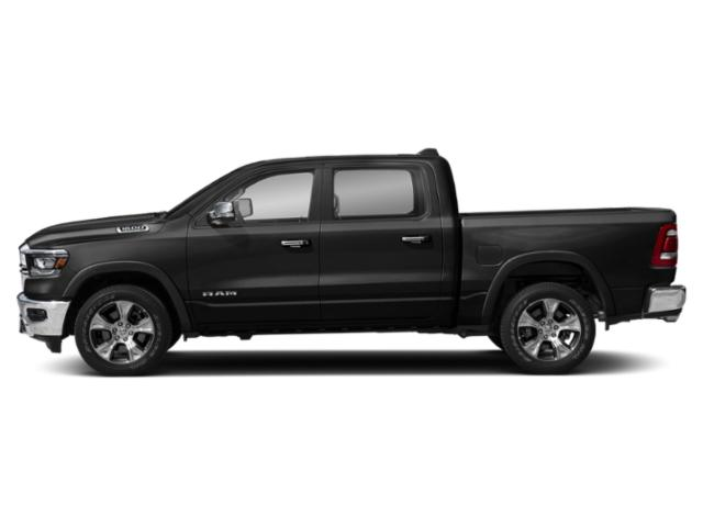 Diamond Black Crystal Pearlcoat 2019 Ram Truck 1500 Pictures 1500 Laramie 4x4 Crew Cab 5'7 Box photos side view