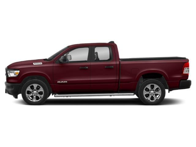 Delmonico Red Pearlcoat 2019 Ram Truck 1500 Pictures 1500 Tradesman 4x4 Quad Cab 6'4 Box photos side view