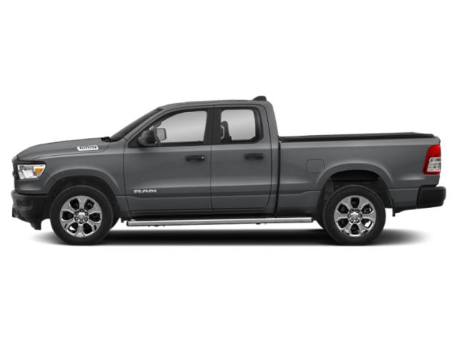 Billet Silver Metallic Clearcoat 2019 Ram Truck 1500 Pictures 1500 Tradesman 4x4 Quad Cab 6'4 Box photos side view