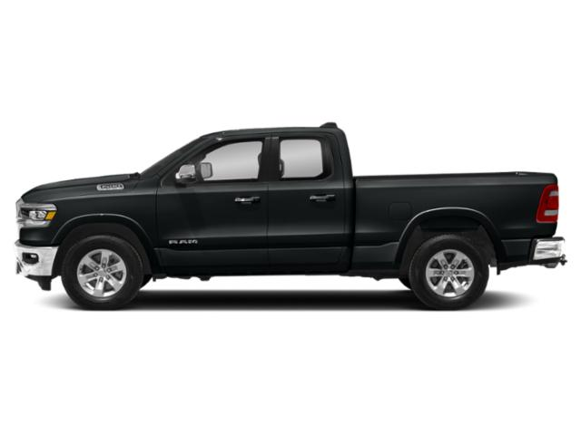 Maximum Steel Metallic Clearcoat 2019 Ram Truck 1500 Pictures 1500 Laramie 4x4 Quad Cab 6'4 Box photos side view