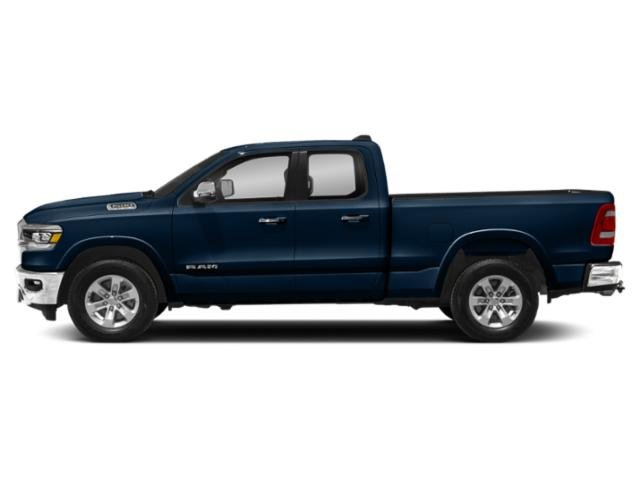 Patriot Blue Pearlcoat 2019 Ram Truck 1500 Pictures 1500 Laramie 4x4 Quad Cab 6'4 Box photos side view