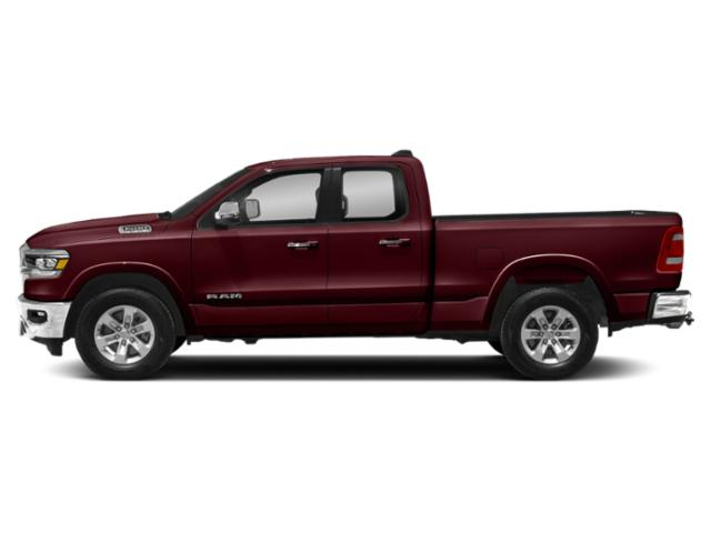 Delmonico Red Pearlcoat 2019 Ram Truck 1500 Pictures 1500 Laramie 4x4 Quad Cab 6'4 Box photos side view