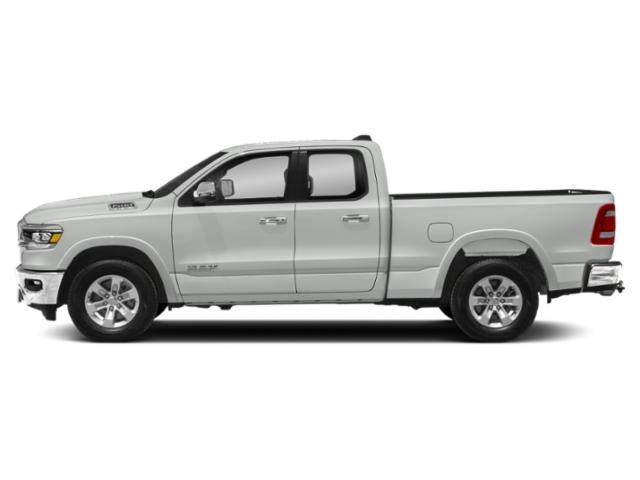 Ivory White Tri-Coat Pearlcoat 2019 Ram Truck 1500 Pictures 1500 Laramie 4x4 Quad Cab 6'4 Box photos side view