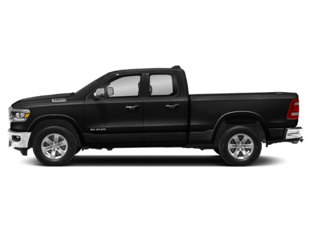 Diamond Black Crystal Pearlcoat 2019 Ram Truck 1500 Pictures 1500 Laramie 4x4 Quad Cab 6'4 Box photos side view