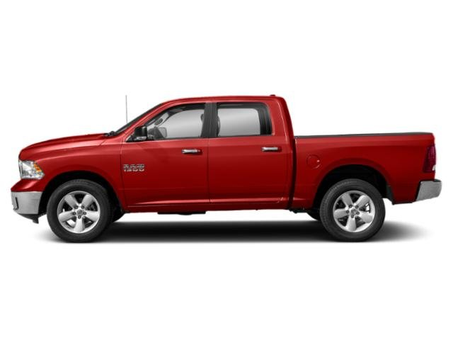 Bright Red 2019 Ram Truck 1500 Classic Pictures 1500 Classic SLT 4x2 Crew Cab 6'4 Box photos side view