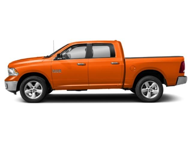 Omaha Orange 2019 Ram Truck 1500 Classic Pictures 1500 Classic SLT 4x2 Crew Cab 6'4 Box photos side view