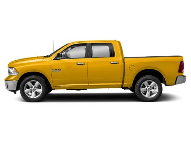 Yellow 2019 Ram Truck 1500 Classic Pictures 1500 Classic SLT 4x2 Crew Cab 6'4 Box photos side view