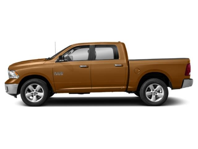 Power Tan 2019 Ram Truck 1500 Classic Pictures 1500 Classic SLT 4x2 Crew Cab 5'7 Box photos side view