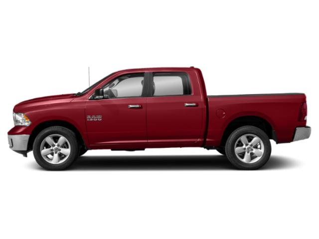 Flame Red Clearcoat 2019 Ram Truck 1500 Classic Pictures 1500 Classic Lone Star 4x4 Crew Cab 6'4 Box photos side view