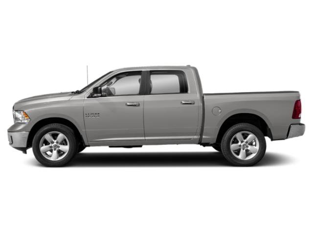 Bright Silver Metallic Clearcoat 2019 Ram Truck 1500 Classic Pictures 1500 Classic SLT 4x2 Crew Cab 5'7 Box photos side view