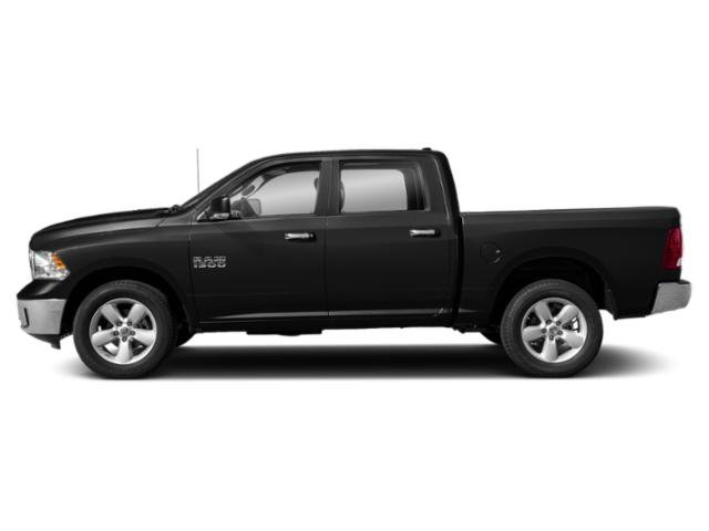 Brilliant Black Crystal Pearlcoat 2019 Ram Truck 1500 Classic Pictures 1500 Classic Lone Star 4x4 Crew Cab 6'4 Box photos side view