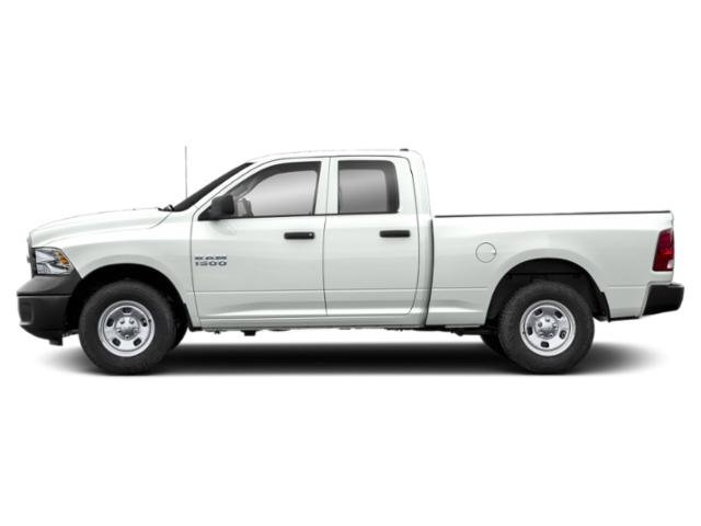 Bright White Clearcoat 2019 Ram Truck 1500 Classic Pictures 1500 Classic Express 4x2 Quad Cab 6'4 Box photos side view