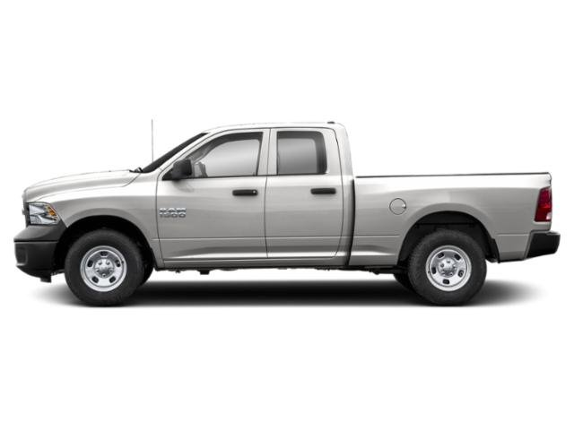 Bright Silver Metallic Clearcoat 2019 Ram Truck 1500 Classic Pictures 1500 Classic Express 4x2 Quad Cab 6'4 Box photos side view