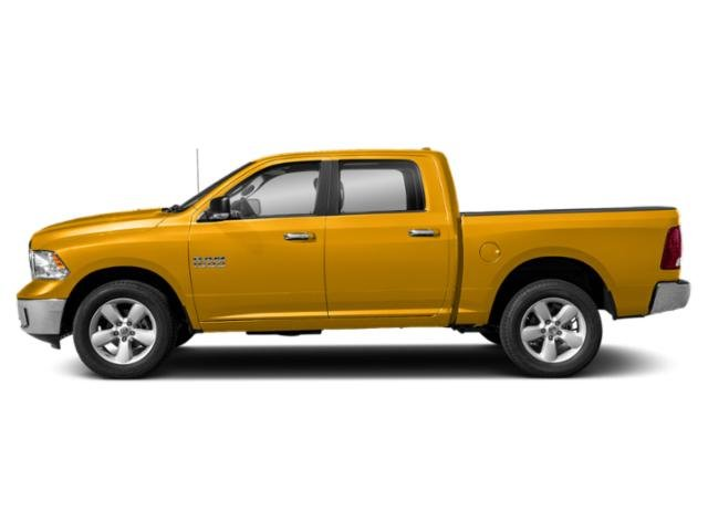 Detonator Yellow Clearcoat 2019 Ram Truck 1500 Classic Pictures 1500 Classic SLT 4x2 Crew Cab 6'4 Box photos side view