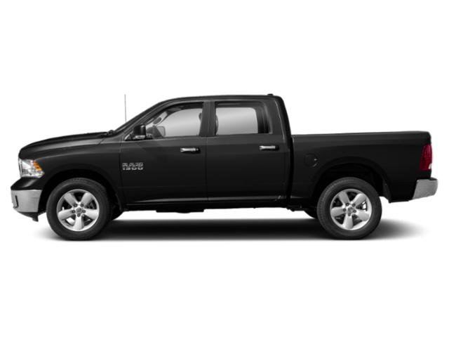 Diamond Black Crystal Pearlcoat 2019 Ram Truck 1500 Classic Pictures 1500 Classic Lone Star 4x2 Crew Cab 6'4 Box photos side view