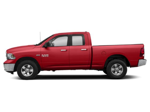 Bright Red 2019 Ram Truck 1500 Classic Pictures 1500 Classic Lone Star 4x2 Quad Cab 6'4 Box photos side view