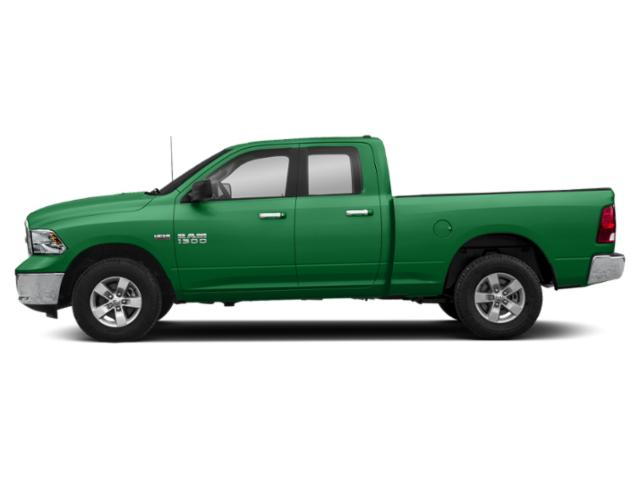 Bright Green 2019 Ram Truck 1500 Classic Pictures 1500 Classic SLT 4x4 Quad Cab 6'4 Box photos side view