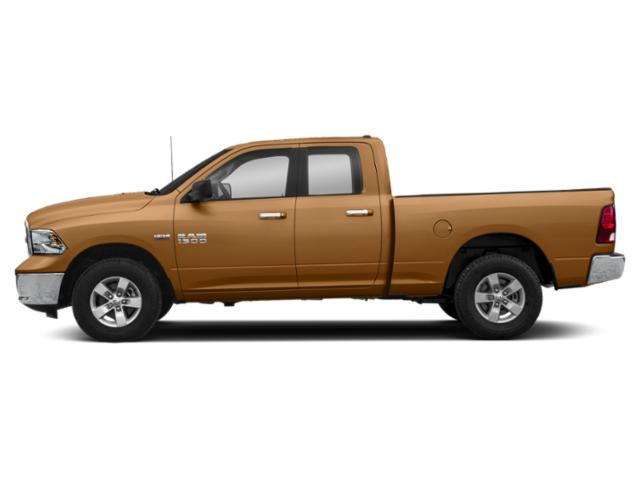 Power Tan 2019 Ram Truck 1500 Classic Pictures 1500 Classic SLT 4x4 Quad Cab 6'4 Box photos side view