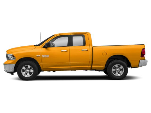 School Bus Yellow 2019 Ram Truck 1500 Classic Pictures 1500 Classic SLT 4x4 Quad Cab 6'4 Box photos side view