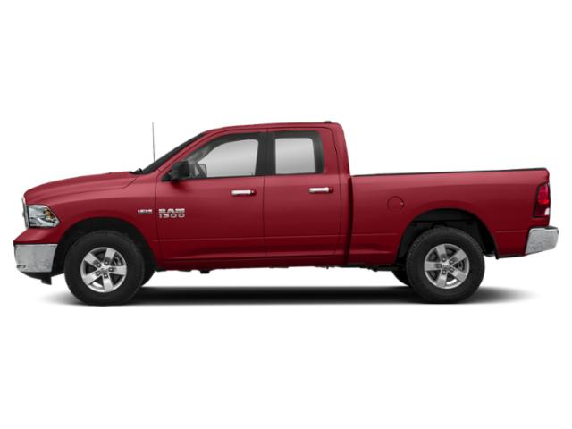 Flame Red Clearcoat 2019 Ram Truck 1500 Classic Pictures 1500 Classic SLT 4x4 Quad Cab 6'4 Box photos side view