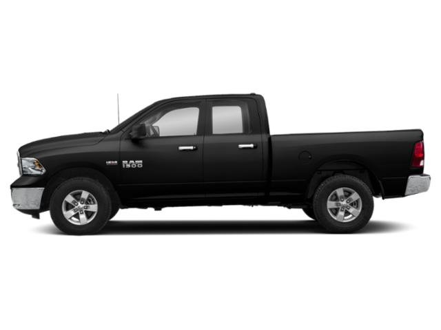 Diamond Black Crystal Pearlcoat 2019 Ram Truck 1500 Classic Pictures 1500 Classic SLT 4x4 Quad Cab 6'4 Box photos side view