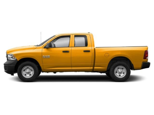 School Bus Yellow 2019 Ram Truck 1500 Classic Pictures 1500 Classic Express 4x4 Quad Cab 6'4 Box photos side view