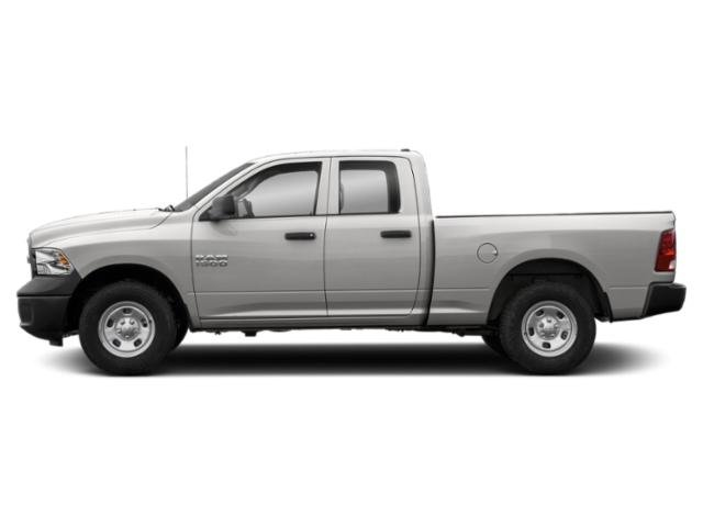 Bright Silver Metallic Clearcoat 2019 Ram Truck 1500 Classic Pictures 1500 Classic Express 4x4 Quad Cab 6'4 Box photos side view