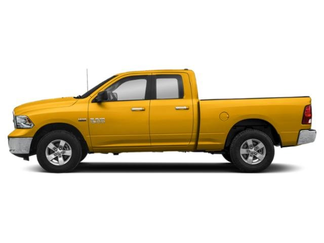 Construction Yellow 2019 Ram Truck 1500 Classic Pictures 1500 Classic Big Horn 4x2 Quad Cab 6'4 Box photos side view