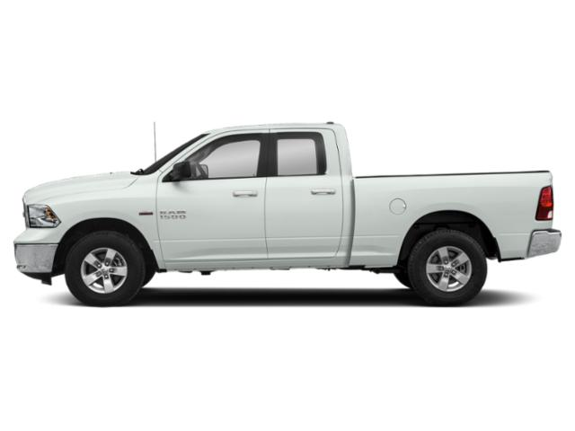 Bright White Clearcoat 2019 Ram Truck 1500 Classic Pictures 1500 Classic Big Horn 4x2 Quad Cab 6'4 Box photos side view