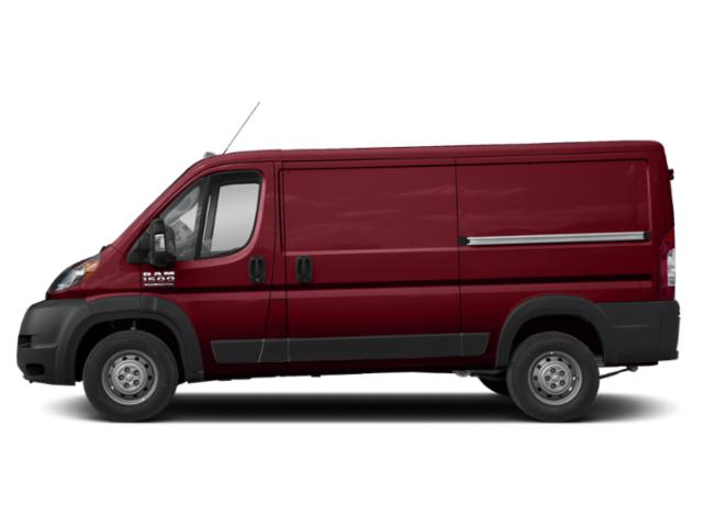 Deep Cherry Red Crystal Pearlcoat 2019 Ram Truck ProMaster Cargo Van Pictures ProMaster Cargo Van 1500 Low Roof 136 WB photos side view