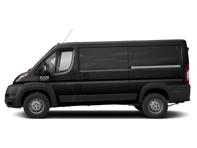 Black Clearcoat 2019 Ram Truck ProMaster Cargo Van Pictures ProMaster Cargo Van 1500 Low Roof 136 WB photos side view