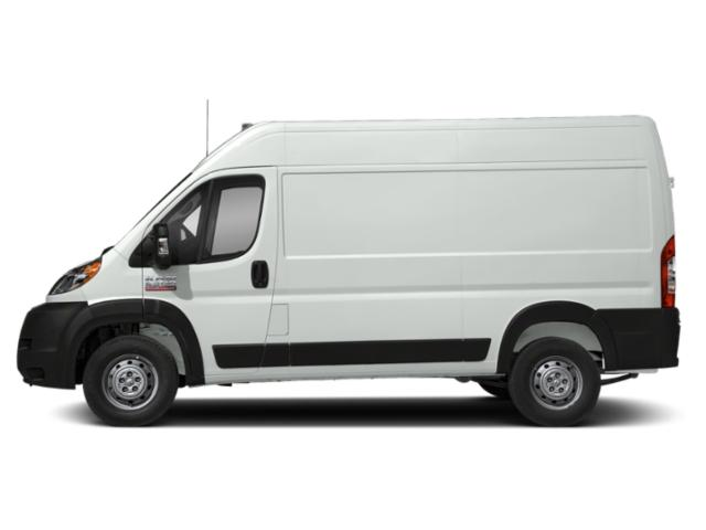 Bright White Clearcoat 2019 Ram Truck ProMaster Cargo Van Pictures ProMaster Cargo Van 2500 High Roof 136 WB photos side view