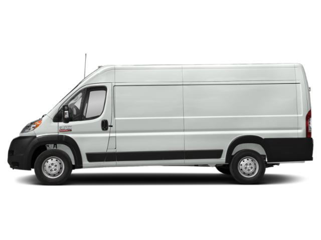 Bright White Clearcoat 2019 Ram Truck ProMaster Cargo Van Pictures ProMaster Cargo Van 3500 High Roof 159 WB EXT photos side view