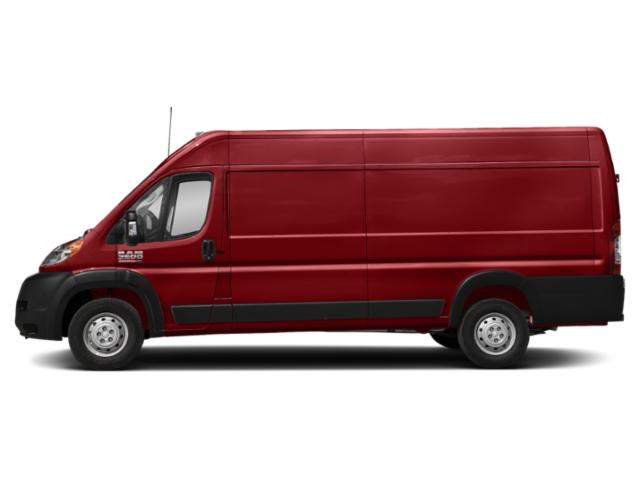 Flame Red Clearcoat 2019 Ram Truck ProMaster Cargo Van Pictures ProMaster Cargo Van 3500 High Roof 159 WB EXT photos side view