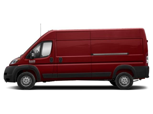 Deep Cherry Red Crystal Pearlcoat 2019 Ram Truck ProMaster Cargo Van Pictures ProMaster Cargo Van 3500 High Roof 159 WB photos side view