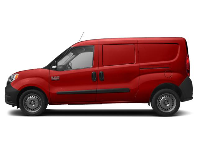 Bright Red 2019 Ram Truck ProMaster City Cargo Van Pictures ProMaster City Cargo Van Tradesman SLT Van photos side view