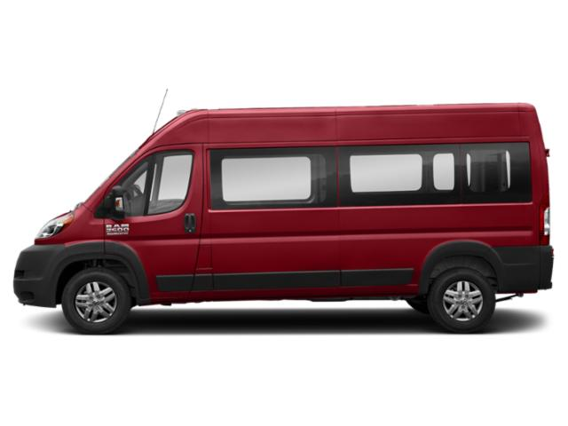 Flame Red Clearcoat 2019 Ram Truck ProMaster Window Van Pictures ProMaster Window Van 3500 High Roof 159 WB EXT photos side view