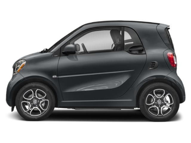 Titania Grey Matte 2019 smart EQ fortwo Pictures EQ fortwo pure coupe photos side view